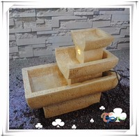 Interior Decoration 3 tier LED Water Fountains