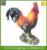 "Large Scale 15"" Height Farm Country ceramic Rooster chicken statues"