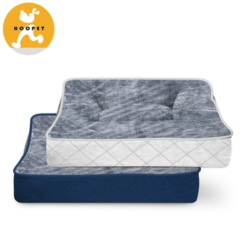 Deluxe Pet Mat Bed Soft Pet Square Bed for Cats and Small Dogs