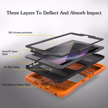 For iPad 2017 9.7 inch heavy duty case with screen protector