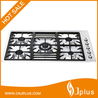 JP-GCG403 Super Flame Stainless Steel Standard Size Kitchen Gas Cooktop with 5 Burners