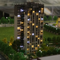 Miniature Architectural Model Scale For Real