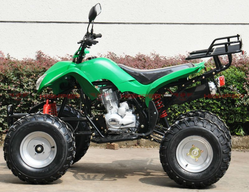 150CC, 200CC, 250CC OFF ROAD ATV