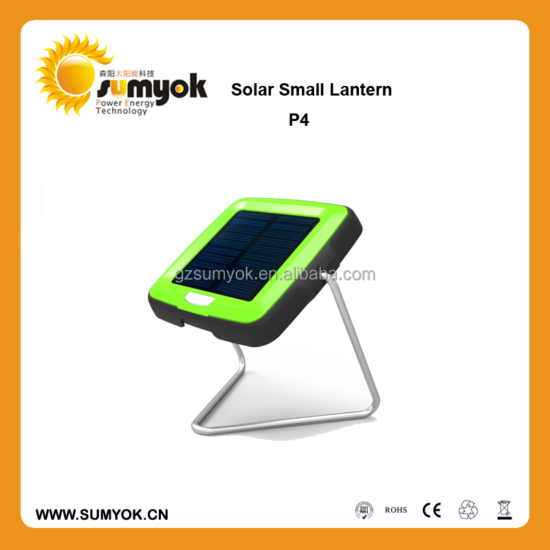 small portable new design long lifespan solar lamp p4