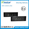 Vinstar high power led license lamp for bmw E87 3pod led license plate lights