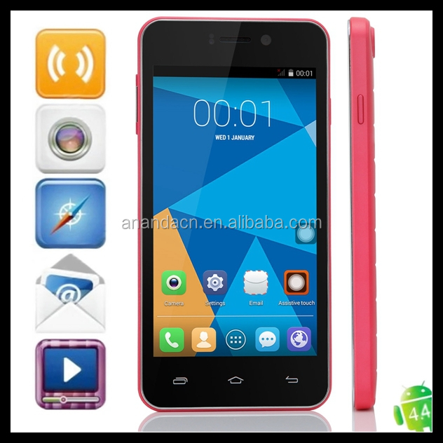 Brand new android 4.2.2 cellphone doogee dg700 4000mah battery android 4.4 o.s. mobile phone