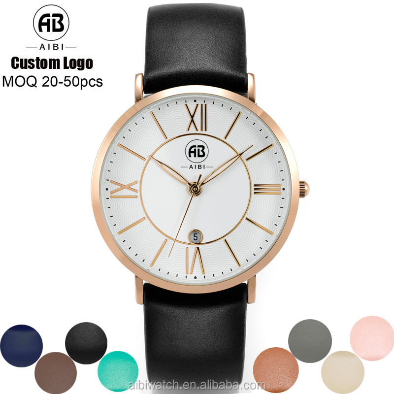 2017 New Model high quality Alloy Case Wrist watches custom your own logo