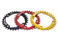 GUB Ultralight 104BCD 32T/34T/36T CNC A7075 Alloy Bike Chainring Round Chainwheel MTB Road Cycle Crankset Parts