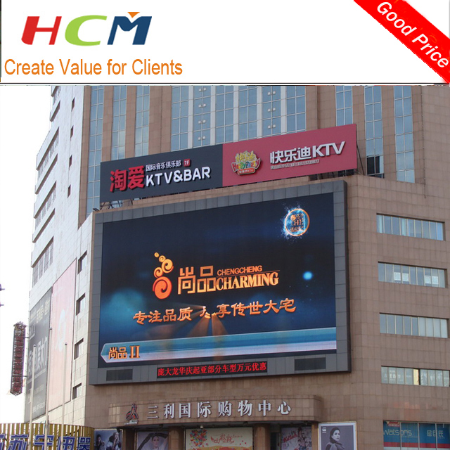 outdoor p10 display led video wall p8/led screen p6 display for outdoor advertising with discounts price