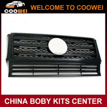 90-09 G SERIES G63 Stye W463 Matt black Grill for Mercedes G55 G500 Car Grille
