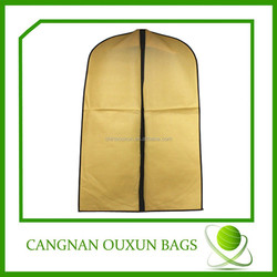 Factory direct sale nonwoven bag for suit