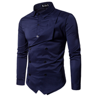 c10767a african clothing men long sleeve casual shirt