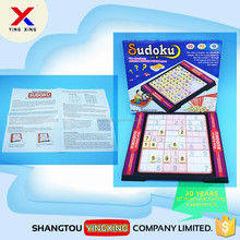 plastic education toy small board game junior sudoku game for kids