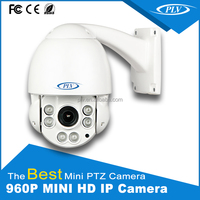 plv professinal 960p 10x optical zoom pan tilt ip mini speed dome camera