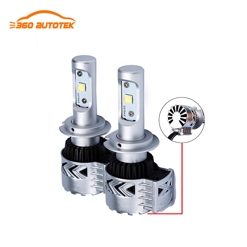 High Quality 12V 24V For Cars/Truck All in one Head Lamp 12000 Lumens Automotive H4 H7 Car Led Headlight bulbs