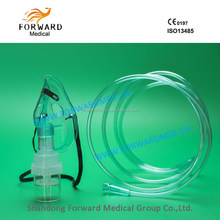 disposable oxygen masks PVC material all types