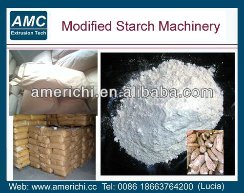 Pre-gelatinized starch/modified starch processing machine/equipment/machines