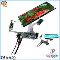 "12.3"" inch tft lcd 1920x720 dots display with Controller Board"