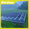 Clear Plastic Multi Span Agricultural Greenhouse