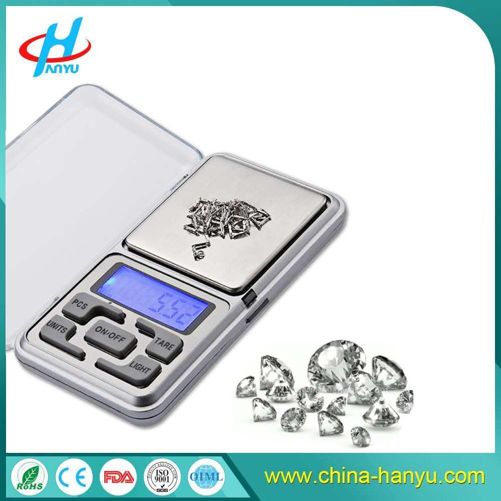 HY-MH 0.01g digital pocket balance scale mh series pocket scale