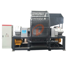 Full automatic used tire shredder prices recycling