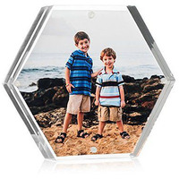 Acrylic Block Picture Frame - 5