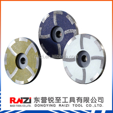 Diamond Resin Filled Cup Wheel 4 inch (100mm) Coarse Medium Fine Abrasive Stone Cup Grinding Wheel with four teeth