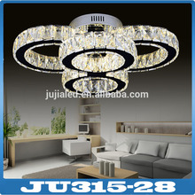 2016 Newest Modern Style Led Crystal Light Pendant lights Chandeliers for Hotel Restaurant Bar