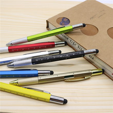 6 In 1 Multi function level screwdriver Tool stylus pens