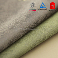 Latest pu garment leather leather material flock leather