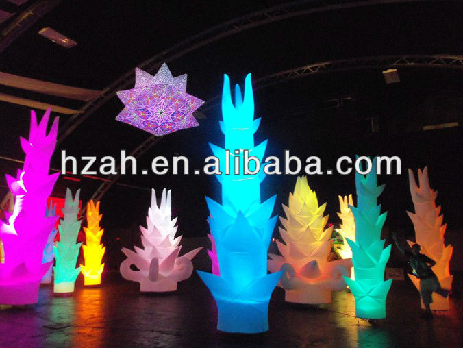 Wedding Decoration Inflatable Lighting Bamboo Inflatable Cone