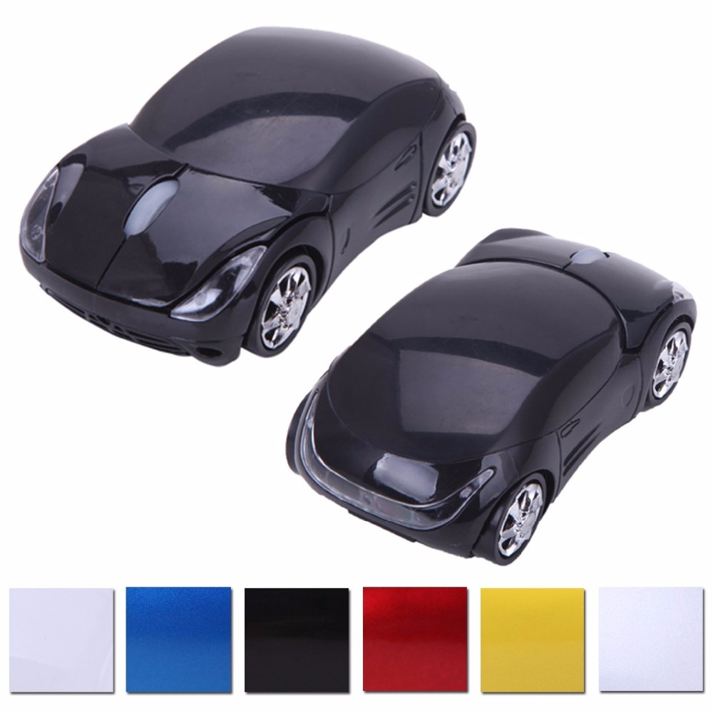 Fast Delivery Custom Logo Design for Ferrari Car Wireless Mouse