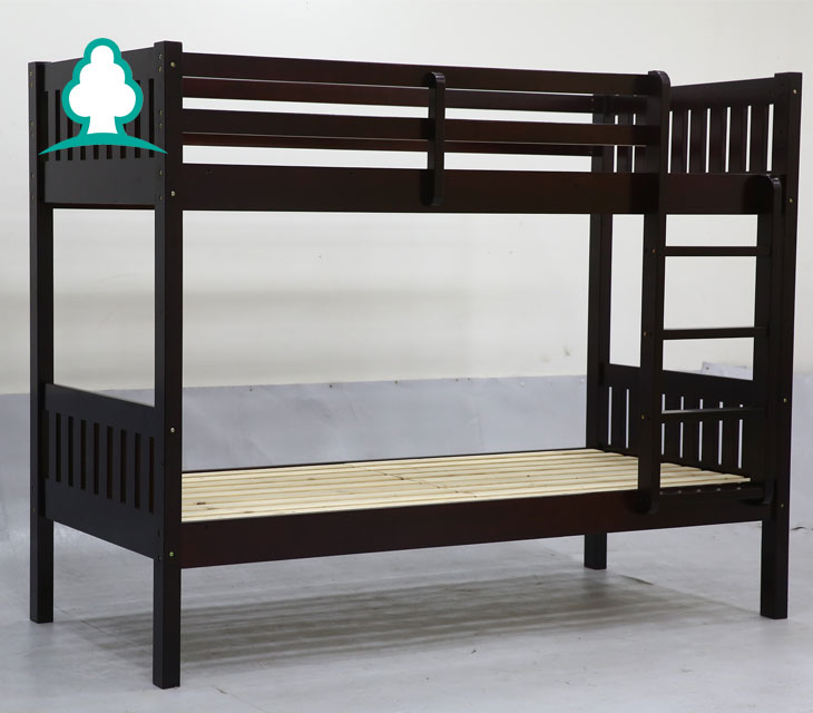 2017 kids bedroom modern children furniture double bunk bed with free mattress