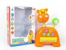 Baby Educational Toy Phone , Electric Plastic Deer Telephone Toy with EN71