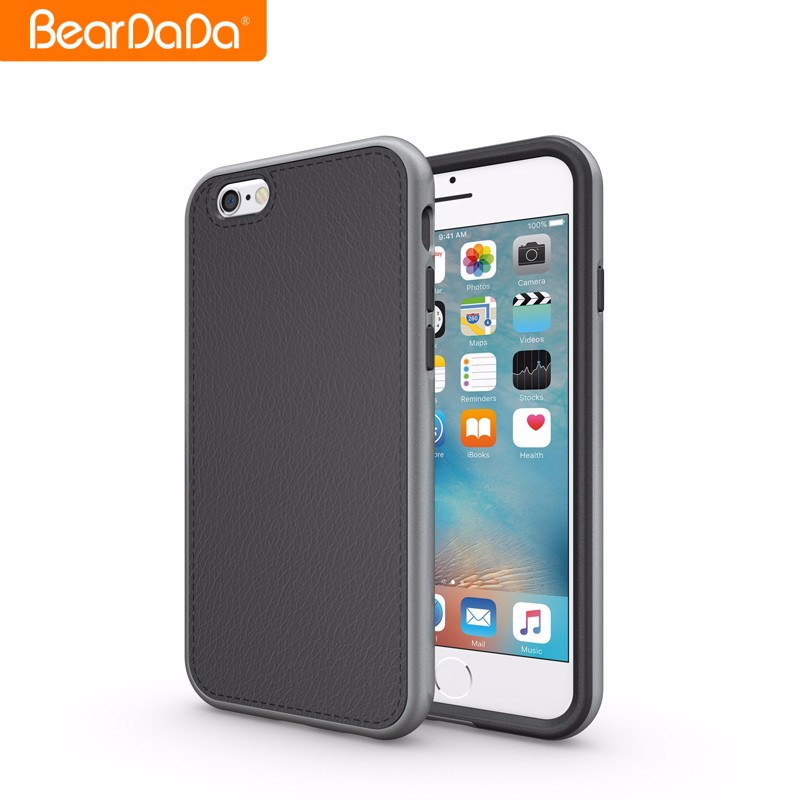 Unique Design Leather Skin cellphone accessories case for iphone 6