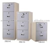 2 Drawers Fire Resistant Cabinet Individual Locking
