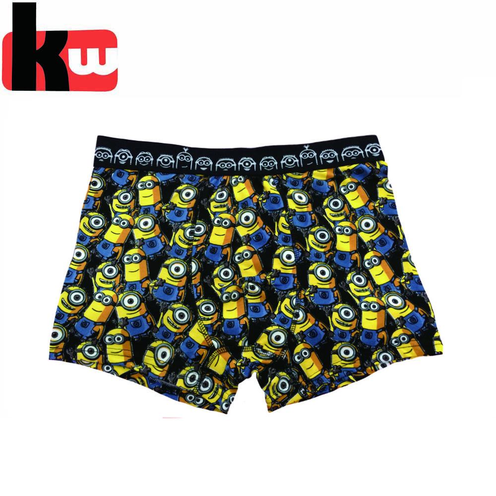 NBCU Minions cartoon kids underwear,boys boxershorts boxer briefs