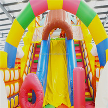 top factory china inflatable combos slide slip castle playing climbing