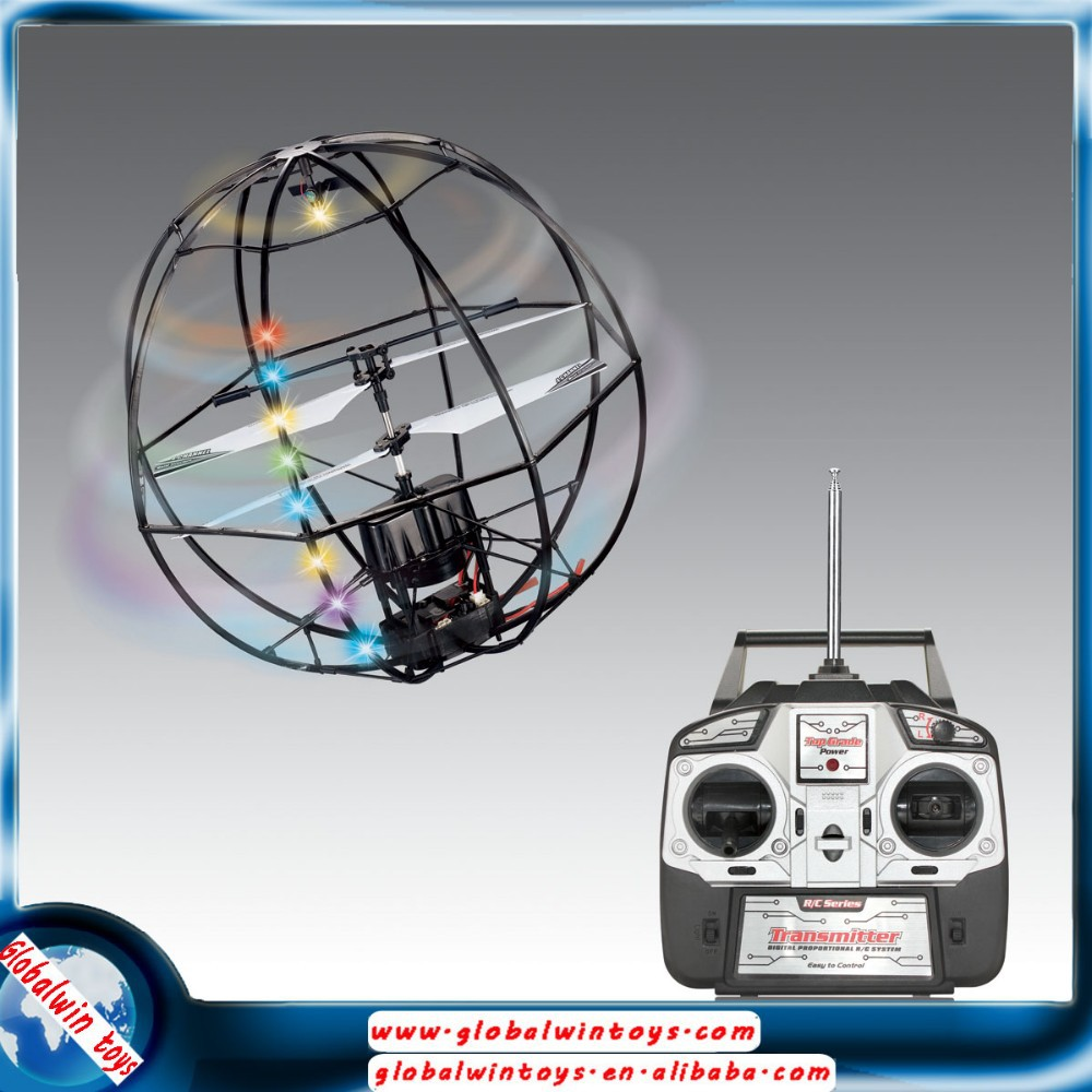 2015 new products 3.5ch wireless ufo rc ball radio control flying soccer ball toys GW-TMJ705