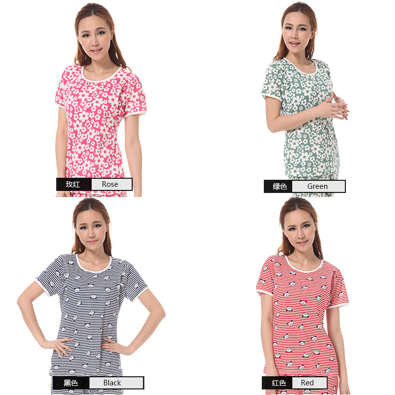 Wholesale 100 cotton maternity clothing women BK053