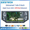 ZESTECH 1 din 5 inch Car Stereo Navigation Satnav GPS auto parts dvd player