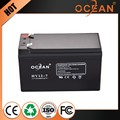 12V non-fading 7ah continuous discharge large power deep cycle solar battery