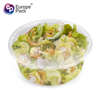 2018 Hot sale clear 3000ml round PP microwaveable chinese take out boxes