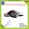printing silicon hand band word cup bracelets