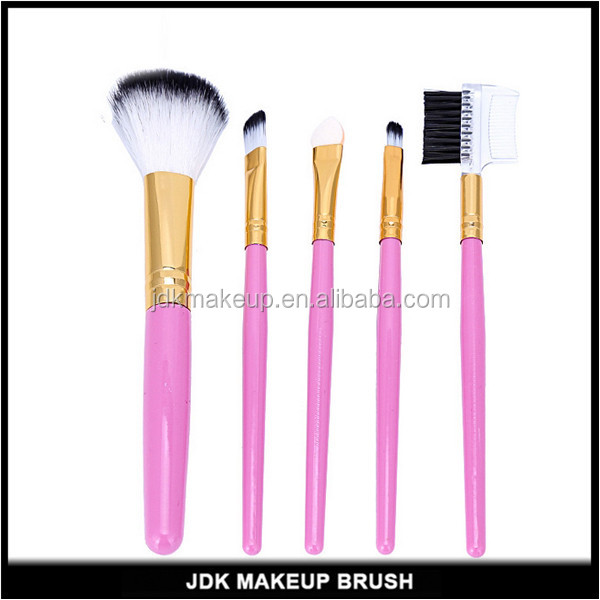 2017 trending beauty products cheap portable makeup brush kit with pvc vag