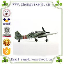 2015 chinese factory custom made handmade carved hot new product resin scale decorative airplane model