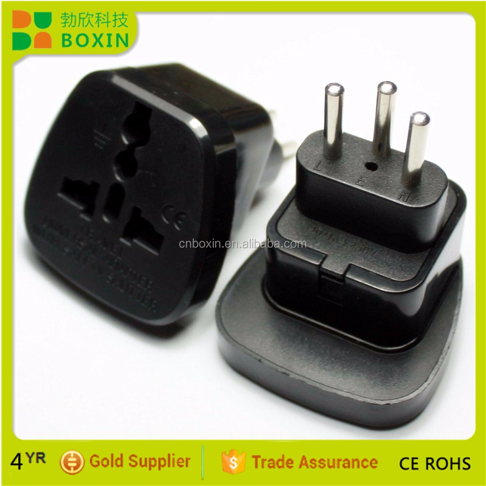 Generic UK/EU/AU/NZ to swiss Style Travel Adapter Adaptor AC