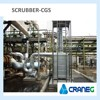 Feeding Processing Industry emission control gas scrubber