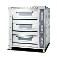 Gas Bread Baking Oven Bakery Machinery for Bread Making Oven Machine