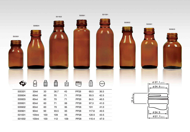 Hot-selling high quality low price amber glass essential amber bottles